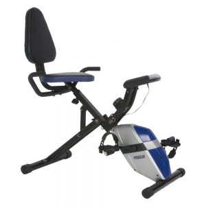 ProGear 190 Compact Recumbent Exercise Bike with a Heart Pulse Sensor