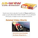 AB-WOW Ab Roller Abdominal Exercise Equipment with Bonuses