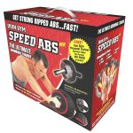 Speed Abs Complete Ab Workout System by Iron Gym, Abdominal Roller Wheel full boxed