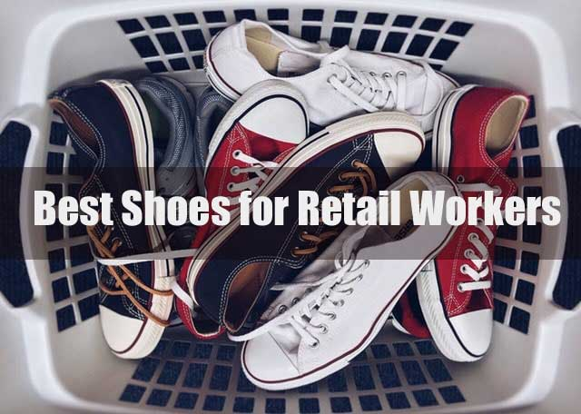 10 Best Shoes for Retail Workers of