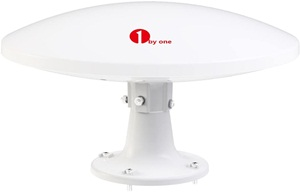 1byone Amplified Rv Antenna With Omni-directional 360° Reception