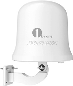 1byone Antcloud Outdoor Tv Antenna With Omni-directional 360 Degree Reception, Amplified 75 Miles