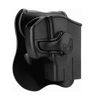 CYTAC Taurus PT111 G2 Holsters, OWB Holster for Taurus G2C G3 9MM Millennium G2 PT132 PT138 PT145 PT745(NO PRO), Tactical Outside The Waistband Belt Holsters with 360°Adjustable Paddle Right Hand