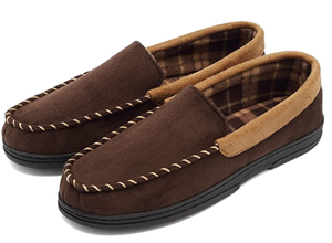 Cior Fantiny Mens Casual Moccasin Flats Slippers