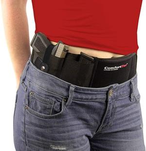 Comfort Tac Ultimate Belly Band Holster for Concealed Carry Black