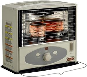 Dyna-glo Rmc 55r7 Indoor Kerosene Radiant Heater, 10000 Btu, Ivory