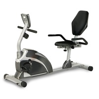EXERPEUTIC 900XL Recumbent Exercise Bike with Pulse 300 lbs. Weight Capacity