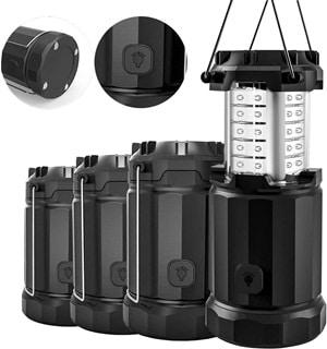 Etekcity 2 Pack & 4 Pack Portable LED Camping Lantern