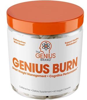 GENIUS FAT BURNER - Thermogenic Weight Loss & Nootropic Focus Supplement