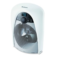 Holmes Digital Bathroom Heater Fan with Pre-Heat Timer and Max Heat Output, HFH436WGL-UM