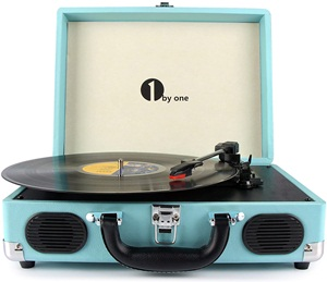 Ibyone Belt-drive 3-speed Stereo Turntable