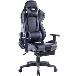 Killbee large size PVC ergonomic reclining racing chair executive office chair