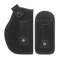LIRISY Inside The Waistband Holster Gun Concealed Carry IWB Holster Fits S&W M&P Shield Glock 19 26 27 29 30 33 42 43 Ruger LC9 & All Similar Handguns