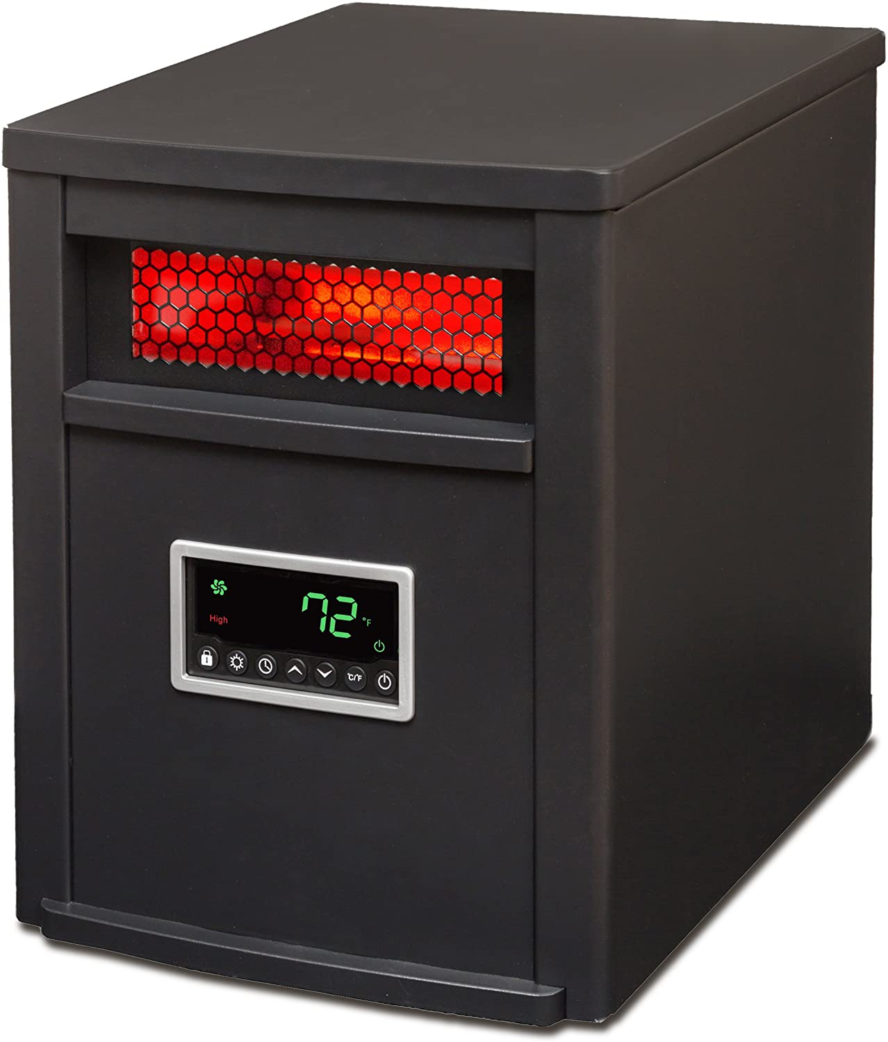 Lifesmart large room 6 element infrared heater with remote