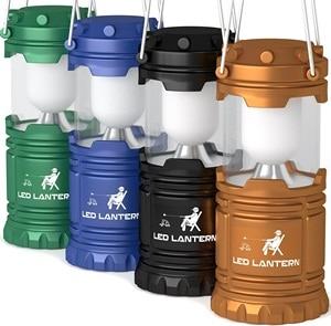 MalloMe LED Camping Lantern Flashlights 4 Pack & 2 Pack