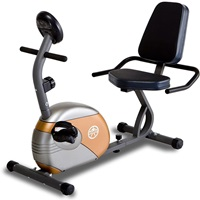 Marcy ME 709 Recumbent Exercise Bike with Large Console Display