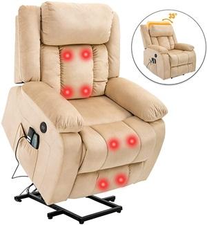 Mecor Power Lift Recliner Chair Leather for Elderly