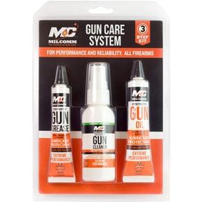 Mil-Comm Three-Step Gun Care Kit
