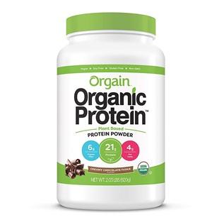 Orgain Organic Plant-based Protein Powder
