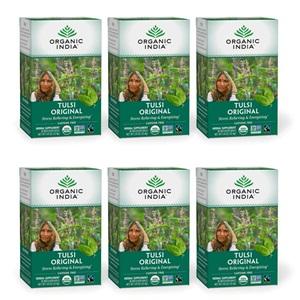 Organic India Tulsi Tea Original, 18-Count Teabags
