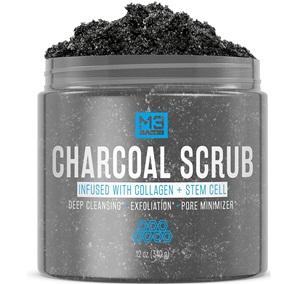 Premium Activated Charcoal Scrub 12 OZ
