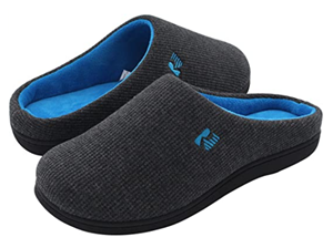 Rock Dove Mens Two-tone Memory Foam Slipper