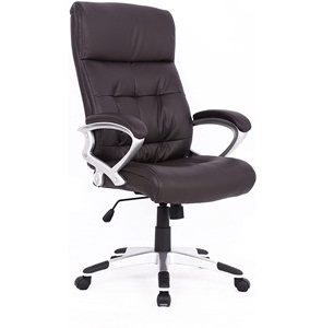 Soges high-back executive chair black leather chair