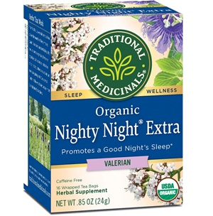 Traditional Medicinals Organic Nighty Night Valerian Relaxation Tea