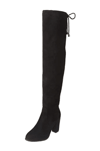 DREAM PAIRS Women's Thigh High Fashion Over the Knee Boots