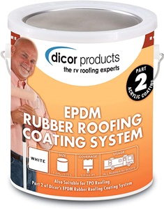 Dicor RPCRC1 EPDM Rubber Roof Coating