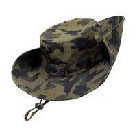 Kolumb Wide Brim Boonie Hat, Men & Women Top Camo Bucket Hats for Safari Military Beach