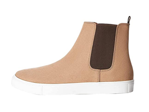 Men's Chelsea Boots with Rounded Toe