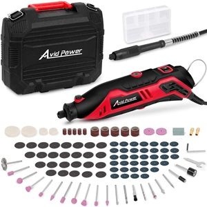 Rotary Tool Kit Variable Speed with Flex Shaft