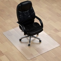 Thickest Chair Mat for Hardwood Floor Thick Crystal Clear Chair Mat for Hard Floor Can't be Used on Carpet Floor