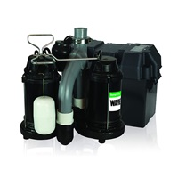 Wayne WSS30VN Upgraded Combination 1-2 HP and 12-Volt Battery Back Up System