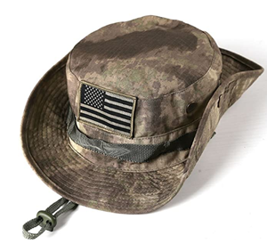 massmall Military Tactical Head Wear Boonie Hat Cap For Wargame,Sports,Fishing &Outdoor Activties