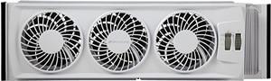 Bionaire BWF0502M-WM Thin Window Fan, White