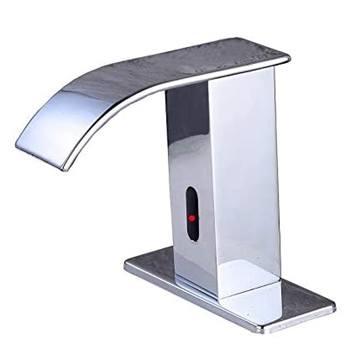 Gangang Automatic Waterfall Bathroom Touchless Faucet