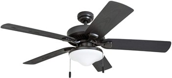 Honeywell Belmar 50512-01 Outdoor LED Ceiling Fan