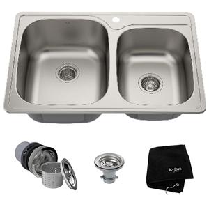 Kraus KTM32 Undermount Kitchen Sink