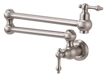 WMXQX Double Joint Swing Arm Pot Filler Faucet