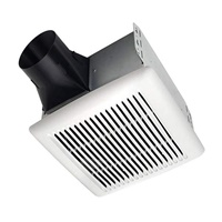 Broan-NuTone AE110 Invent Energy Star Qualified Single-Speed Ventilation Fan, 110 CFM 1.0 Sones, White