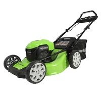 Greenworks 40V 21 Brushless (Smart Pace) Self-Propelled Lawn Mower, Battery Not Included MO40L03