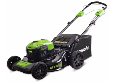 Greenworks MO40L02 Self Propelled Lawn Mower