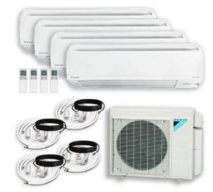 DAIKIN (4ZONE) 4MXS Air Conditioner