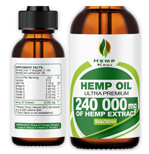 Hemp King Oil Drops