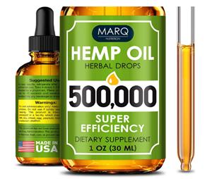 MARQ Nutrition Hemp Oil