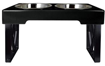 Pet Zone Designer Diner Adjustable Dog Bowl