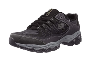 Skechers Men's Afterburn Memory-foam Lace-up Sneakers